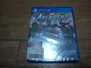 ★ 新品 PS4 アベンジャーズ MARVEL AVENGERS ★