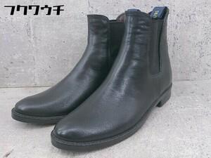 ◇ RAINFUBS レインファブス サイドゴア ショート ブーツ サイズM ブラック レディース