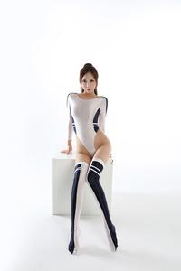 長袖上下セット コスプレ衣装 ハイレグレオタード レースクイーンレオタード ブラック フリーサイズ