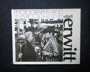 1972年 エリオット・アーウィット 洋書写真集 Elliott Erwitt 「Photographs and Anti-Photographs」マグナムフォト