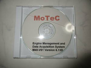 MOTECmo- Tec M48-V61 Version 6.13D CD-ROM DISC1 sheets engine management for used real movement goods