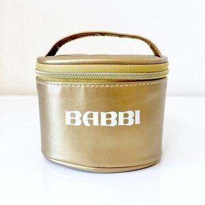 【送料無料】BABBI(バビ) 2020年限定 バッビーノアソート バニティポーチ《チョコレートウエハースなし》ゴールド 金 化粧ポーチ ブランド