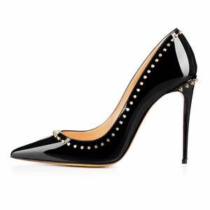 現品26cm パンプス サイズ12cmピンヒール ハイヒール 靴 ポインテッドトゥ 美脚 大人 デート
