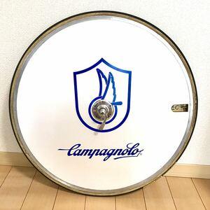 【極希少】極上美品!カンパニョーロ ギブリ トラック 青ロゴ フロント 650C ピスト Campagnolo ghibli track njs カンパ shamal ディスク