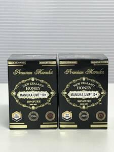 最高品質 ニュージーランド産マヌカハニー プレミアムマヌカ マヌカハニーUMF10+ 2個セット