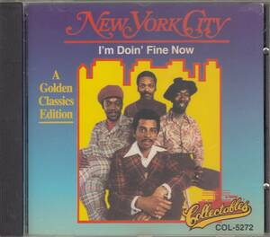 輸 New York City I'm Doin' Fine Now◆規格番号■COL-CD-5272◆送料無料■即決●交渉有