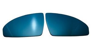abarth /124 Spider wide mirror / blue lens * exchange type [AutoStyle] new goods /FIAT ABARTH/124 SPIDER/