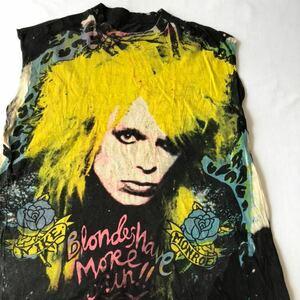 80s 90s MICHAEL MONROE ARTISTIQUE ET SENTIMENTAL? 手刷り Tシャツ ビンテージ 80年代 90年代 マイケルモンロー オリジナル ヴィンテージ