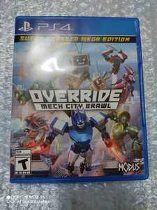 【送料込】PS4 オーバーライド スーパーチャージド メガエディション 海外版