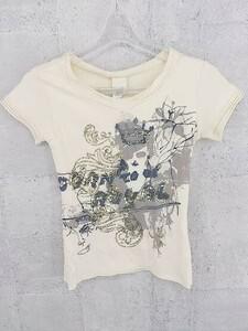 ◇ DIESEL ディーゼル タグ付き 半袖 Tシャツ カットソー XS ベージュ * 1002797387165