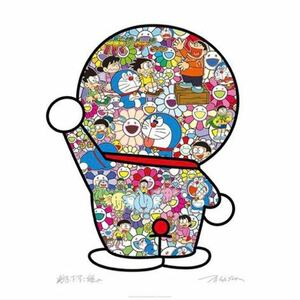 即発送!村上隆 × 藤子・F・不二雄 コラボ ドラえもん ポスター 【ドラえもんの日常】 Takashi Murakami / Edition 1000 / Signed.