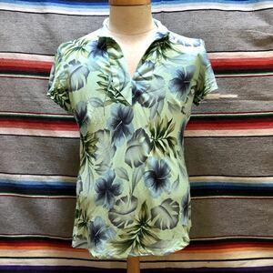 Made in HAWAII IOLANI SPORTS WEAR ハワイアン トップス 検索:ハワイ 古着 アロハ ハワイアンシャツ アロハシャツ