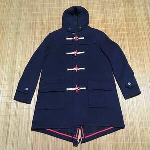 極美品 試着程度 12aw PHENNOMENON GLOVERALL グローバーオール ダッフル コート ネイビー M イギリス製 フェノメノン MR.GENTLEMAN