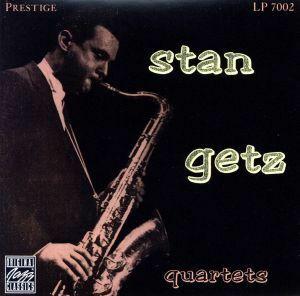 【輸入盤】STAN GETZ QUARTETS/スタン・ゲッツ(ts)