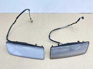 ◯管k201017-0203 RX-7 FC3S 後期 ポジションランプ 左右 セット ライト レンズ ひび有 ジャンク STANLEY 052-0606 サバンナ (8)