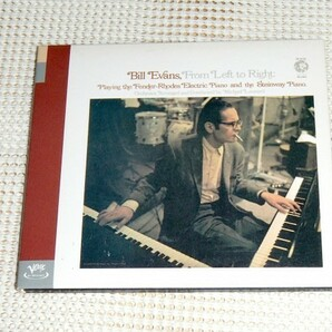 Bill Evans ビル エヴァンス From Left To Right / Verve / フェンダー ローズ 使用 秀作 / Eddie Gomez Marty Morell Sam Brown 等参加