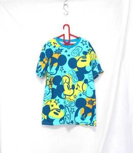 〔未使用 新品 送料無料!〕 TOKYO Disney RESORT 東京 ディズニー リゾート ミッキー 柄 Tシャツ ( 洗える カットソー ディズニーランド )