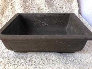 植木鉢 鉢 盆栽 盆栽鉢 ガーデニング 浅型 陶器 長方形 フラワーポット 45