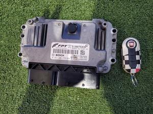 * engine computer - key key 51807549F 169A3 Fiat 500 chin ke changer toABA-31214