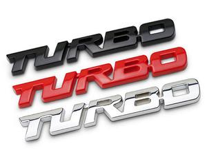 【送料無料】四駆 4WD スマート3D TURBOエンブレム タンドラ ジープ ランクル  RAV4 アメ車 レッドカラー