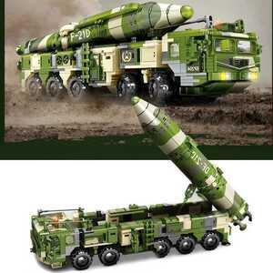 ☆最安値☆ レゴ 互換 弾道ミサイル 軍事車輌 トラック ミリタリー 1230ピース