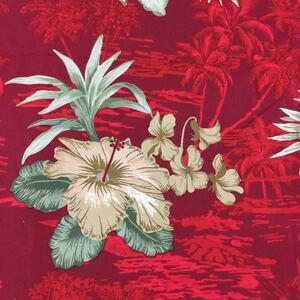 生地 ハギレ 布 ハイビスカス 花柄 ハワイアン 50cm