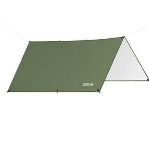 タープテント アーミーグリーン(サイズ300×300)