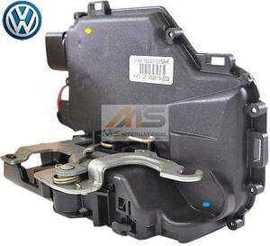 【M's】VW ニュービートル 9C(2006y-2010y) パサート 3B(2001y-2005y)純正品 フロント ドアロックアクチュエーター 左側(右ハンドル用)