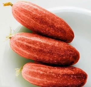 ★ 赤 きゅうり ( 30 種子 ) RED CUCUMBER ★