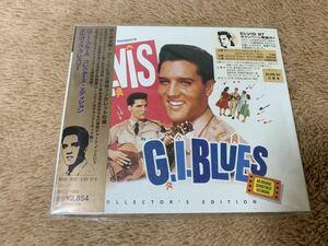 新品未開封 レア エルヴィス・プレスリー Elvis Presley G. I. Blues 直輸入盤 限定盤 CD 解説・歌詞・対訳付き 送料無料