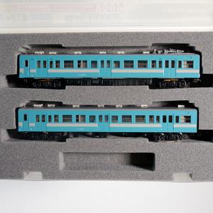 鉄道模型 Nゲージ GREENMAX グリーンマックス 4008 国鉄 JR 119系0番代 ライトブルー 非冷房車