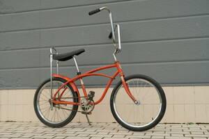 Vintage Bicycle Huffy Allpro Orange Muscle Bike Schwinn Sears 60s 70s Old Wicking At Home America SK8