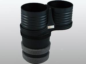 【ALCABO/アルカボ】 ドリンクホルダー ブラック カップ タイプ NISSAN(日産) GT-R R35 2007年~ [AL-T110B]