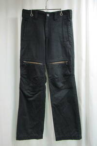 Y's for men yohji yamamoto 黒 ミリタリーデザインパンツ MB-P09-001