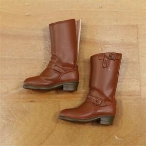 セキグチ 靴 未使用新品 ジェニー momoko ruruko リカちゃん ユノラ ブライス ブーツ 茶色