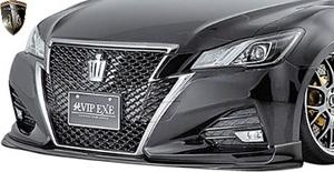 【M's】TOYOTA 後期 210系 クラウン アスリート (2015.10-2018.4) AIMGAIN 純VIP EXE フロントスポイラー // FRP エイムゲイン エアロ