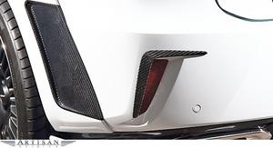 【M's】LEXUS 20系 前期 RX300 RX200t RX350 RX450h F SPORT (2015.10-2019.7) ARTISAN SPIRITS カーボン リアバンパーガーニッシュ 2P