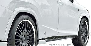 【M's】レクサス 20系 RX300 RX200t RX350 RX450h Fスポーツ (前期) ARTISAN SPIRITS オーバーフェンダー (10mmワイド) アーティシャン