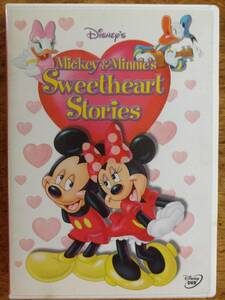 DVD ディズニー「Mickey and Minnie's Sweetheart Stories 」英語版