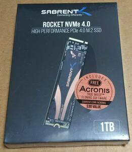 【新品・未開封】Sabrent Rocket 1TB M.2 NVMe Gen.4 5000-4400MB/s