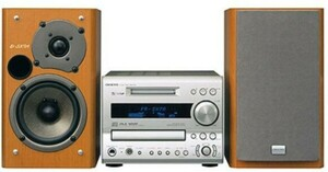 md cdコンポ 中古 md cdプレーヤー中古 mdプレイヤー ONKYO FR-SX7A MDデッキ MD CDシステム ミニコンポ 保証付 送料無料