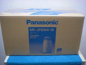 ★即決★パナソニック(Panasonic) 紙パック式掃除機 Jコンセプト ハウスダスト発見センサー MC-JP830K-W ホワイト