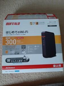 新品未使用 WHR-300HP2 BUFFALO 無線LAN親機
