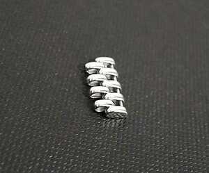 希少 Tabbah タバー BERET ベルト ブレス コマ 駒 18KWG ※1コマ ※約1.4cm幅 ※同じ形状・加工
