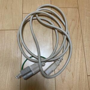 デスクトップ用 電源ケーブル⑥ 電源変換プラグ3P→2Pアース付