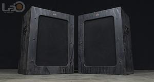 ALTEC アルテック 614 米松合板 15inch 黒箱 キャビネット ペア (米国/ロスアンゼルス発)