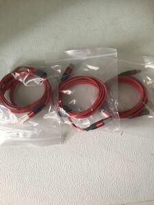 【新品】USBケーブル タイプC 1.2m×3本セット