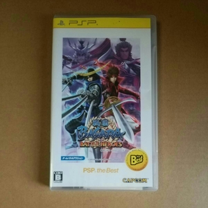 ◆PSP 戦国BASARA(バサラ) バトルヒーローズ PSP the Best