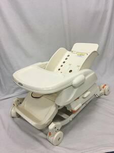 combi コンビ ベビーラック レミニスS ベッド ハイロー 椅子 チェア 手動スウィング ゆりかご 赤ちゃん 出産 育児 子供