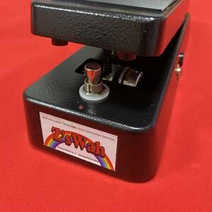 美品! Z's Design Z's Wah Black (ディメンションの増崎 孝司氏も使用する限定生産30台のワウペダルです!) ワウ エフェクター